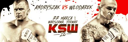 KSW26: Michał Andryszak kontra Michał Włodarek w dodatkowej karcie walk
