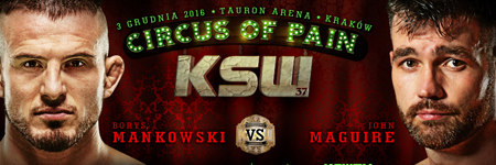 John Maguire challenges Borys Ma�kowski for the welterweight title at KSW 37