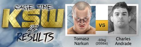 KSW27: Tomasz Narkun vs Charles Andrade