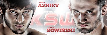 KSW24: Artur Sowiński vs. Anzor Azhiev
