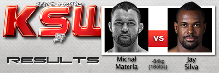 KSW24: Michał Materla vs Jay Silva