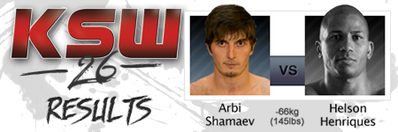 KSW26: Arbi Shamaev vs Helson Henriques