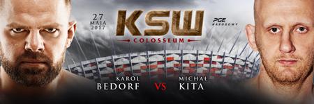 Karol Bedorf vs Michal Kita 2 na KSW Colosseum