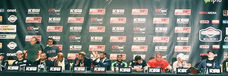 KSW27 - Cage Time: konferencja prasowa po gali