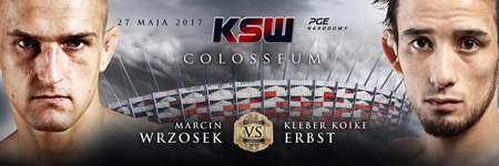 Droga do KSW 39: Colosseum – Marcin Wrzosek i Kleber Koike Erbs