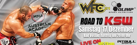 WFC 21: Road to KSW set for December in Austria