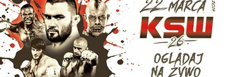 KSW26: seria kontuzji, zmiany w karcie walk