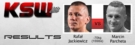 KSW 28: Marcin Parcheta rozbi³ Rafa³a Jackiewicza