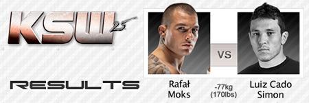 KSW25: Rafa³ Moks vs Luiz Cado Simon