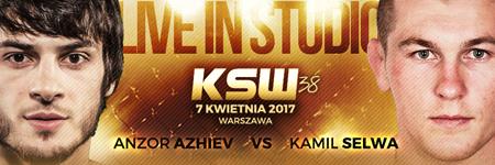 Kamil Selwa rywalem Azhieva na KSW 38