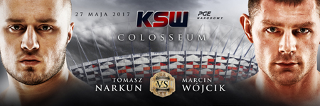Droga do KSW 39: Colosseum – Tomasz Narkun i Marcin Wójcik