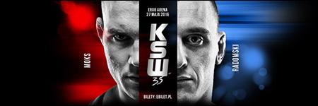 KSW35: Rafał Moks pokonał Robert Radomski