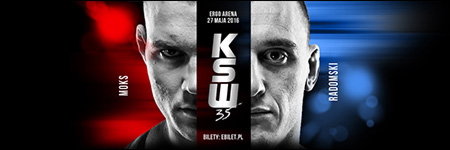 KSW35: Rafa� Moks pokona� Robert Radomski