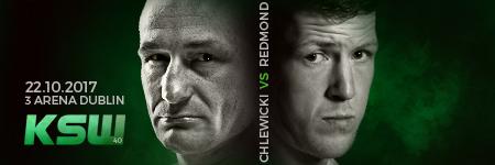 £ukasz Chlewicki vs Paul Redmond oficjalnie na KSW 40