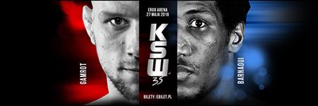 KSW35: Mateusz Gamrot mistrzem KSW w wadze lekkiej