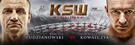 Strongman vs strongman: Mariusz Pudzianowski kontra Tyberiusz Kowalczyk na KSW Colosseum