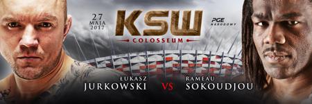 """Juras"" kontra Sokoudjou na KSW Colosseum"