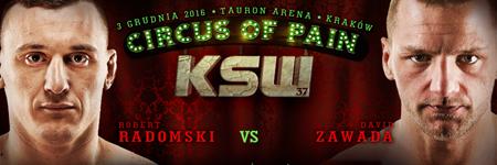 Radomski vs Zawada zamiast Jewtuszko vs Enomoto na KSW 37