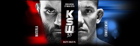 KSW35: Michał Materla znokautował Antoniego Chmielewskiego