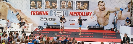 Picture gallery from KSW 35 media training