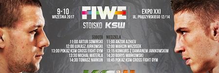 Pierwsze spotkania twarzą w twarz gwiazd KSW 40 już w ten weekend na FIWE