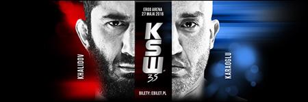 KSW35: Mamed Khalidov obronił tytuł mistrzowski w walce z Karaoglu