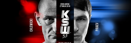 Droga do KSW 35 - Chlewicki i Piraev