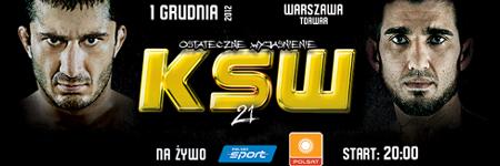 KSW21: informacje o transmisji