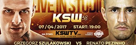 KSW38: Grzegorz Szulakowski zdominowa³ Renato Pezinho