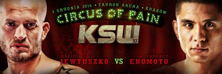 Maciej Jewtuszko vs Yasubey Enomoto oficjalnie na KSW 37