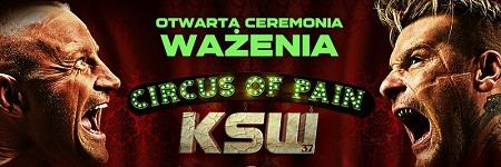 Otwarta ceremonia ważenia KSW 37 w piątek o 18:00 w TAURON Arenie Kraków