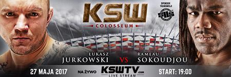KSW39: £ukasz Jurkowski wypunktowa³ Rameau Sokoudjou