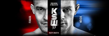 KSW35: Marcin Wójcik lepszy od Michała Fijałki