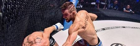 Piąta obrona pasa na PGE Narodowym, Mateusz Gamrot kolejnym mistrzem na KSW Colosseum