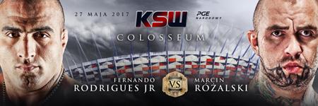 Droga do KSW 39: Colosseum – Fernando Rodrigues Jr. i Marcin Różalski
