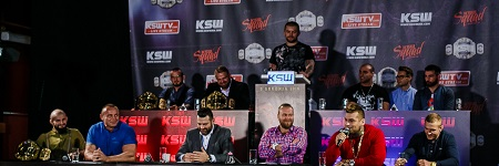 KSW 37 press conference picture gallery