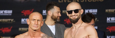 KSW 38: Live in Studio official weigh-in results