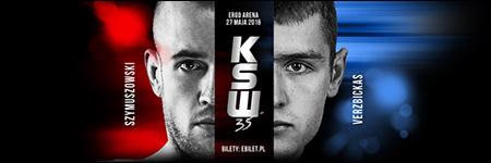 KSW35: Kamil Szymuszowski wypunktował Verzbickasa