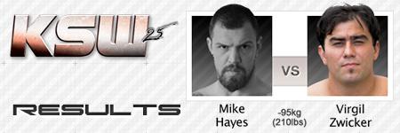 KSW25: Mike Hayes vs Virgil Zwicker