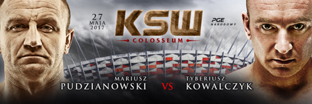 Droga do KSW 39: Colosseum – Mariusz Pudzianowski i Tyberiusz Kowalczyk