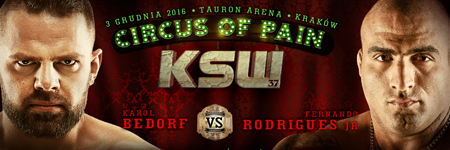 Droga do KSW 37: Bedorf i Rodrigues Jr.
