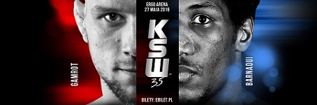 Mansour Barnaoui faces Mateusz Gamrot for the KSW lightweight title