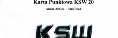 KSW20: karty sędziowskie