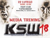 Przyjdź na media trening i zobacz na żywo Różalskiego, Le Bannera i Błachowicza