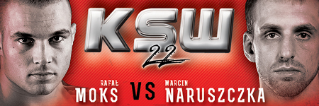 KSW22: Rafał Moks vs. Marcin Naruszczka