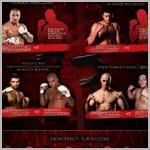 Czołowi zawodnicy MMA w turnieju KSW 13 - fightcard