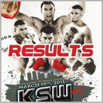 KSW 15 - Wyniki