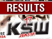 KSW 17 - fotorelacja oraz wyniki walk KSW 17