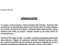 Niko Puhakka nie wystąpi na KSW18 - oświadczenie!