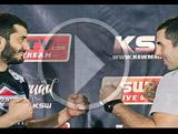 Konferencja prasowa z Khalidovem i Drwalem przed KSW 29